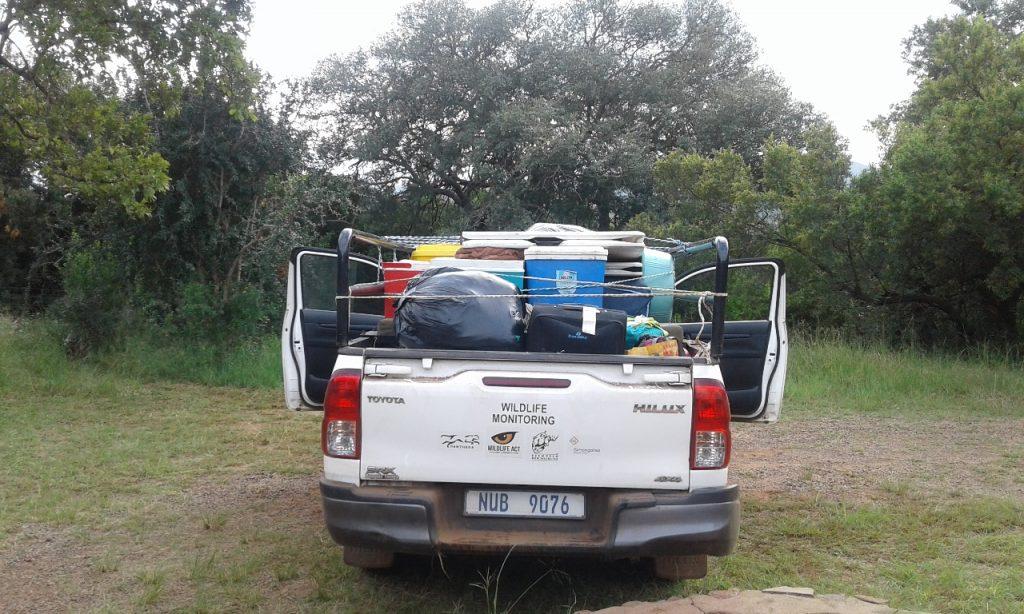 leopard survey research vehicle
